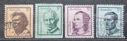 Poštovní známky Austrálie 1968 Slavní Australani Mi# 410-13