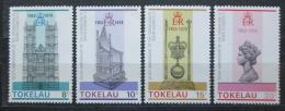 Poštovní známky Tokelau 1978 Vláda Alžbìty II., 25. výroèí Mi# 54-57