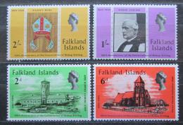 Poštovní známky Falklandské ostrovy 1969 Konsekrace, 100. výroèí Mi# 179-82
