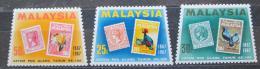Poštovní známky Malajsie 1967 První známky, 100. výroèí Mi# 47-48 Kat 7€