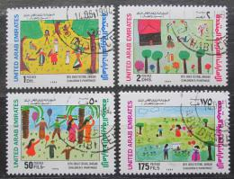 Poštovní známky S.A.E. 1994 Dìtské kresby Mi# 437-40