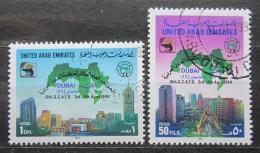 Poštovní známky S.A.E. 1994 Konference Organizace arabských mìst Mi# 441-42