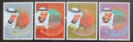 Poštovní známky S.A.E. 1996 Prezident Said ibn Sultan al-Nahajan Mi# 525-28