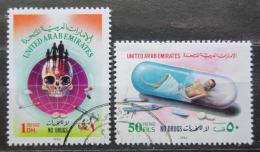 Poštovní známky S.A.E. 1993 Boj proti drogám Mi# 415-16