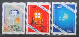 Poštovní známky S.A.E. 1990 OPEC, 30. výroèí Mi# 316-18