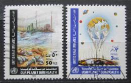 Poštovní známky S.A.E. 1990 Ochrana životního prostøedí a zdraví Mi# 319-20