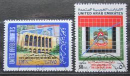 Poštovní známky S.A.E. 1990 Centrální banka, 10. výroèí Mi# 323-24
