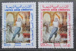 Poštovní známky S.A.E. 1988 Povstání Palestincù Mi# 251-52