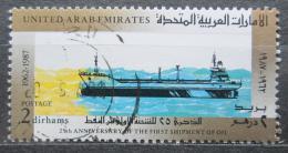 Poštovní známka S.A.E. 1987 Ropný tanker Mi# 230