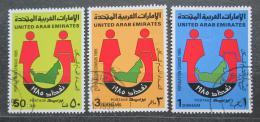 Poštovní známky S.A.E. 1985 Sèítání lidu Mi# 185-87