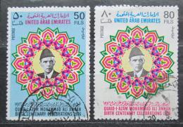 Poštovní známky S.A.E. 1976 Mohammed Ali Jinnah Mi# 75-76