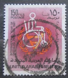 Poštovní známka S.A.E. 1981 Mezinárodní den tìlesnì postižených Mi# 131