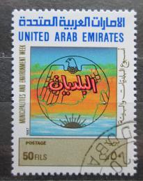 Poštovní známka S.A.E. 1987 Týden mìst a životního prostøedí Mi# 219