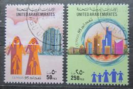 Poštovní známky S.A.E. 1995 Sèítání lidu Mi# 488-89