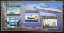 Poštovní známky Guinea 2012 Slavné lodì Mi# 9514-16 Kat 18€