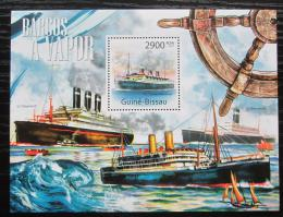 Poštovní známka Guinea-Bissau 2011 Slavné lodì Mi# Block 989 Kat 11€