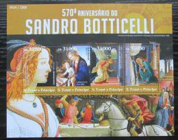 Poštovní známky Svatý Tomáš 2015 Umìní, Sandro Botticelli Mi# 6208-11 Kat 12€