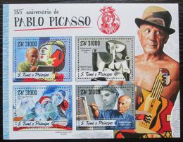 Poštovní známky Svatý Tomáš 2016 Umìní, Pablo Picasso Mi# 6946-49 Kat 12€
