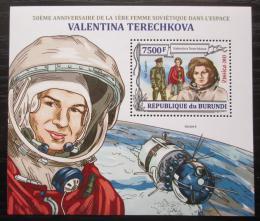 Poštovní známka Burundi 2013 Valentina Tìreškovová Mi# Block 349 Kat 9€