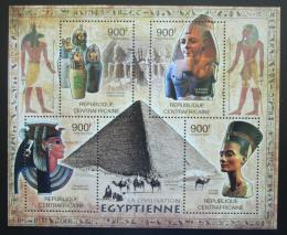 Poštovní známky SAR 2012 Egyptská kultura Mi# 3562-65 Kat 16€