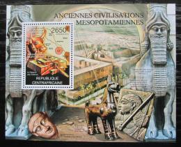 Poštovní známka SAR 2012 Kultura Mezopotámie Mi# Block 923 Kat 12€