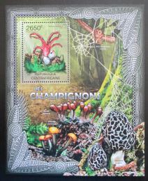 Poštovní známka SAR 2012 Houby Mi# Block 938 Kat 12€
