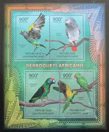 Poštovní známky SAR 2012 Papoušci Mi# 3667-70 Kat 16€