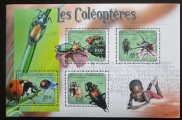 Poštovní známky SAR 2011 Brouci Mi# 2983-86 Kat 10€
