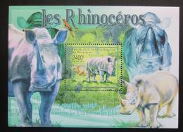Poštovní známka SAR 2011 Nosorožci Mi# Mi# Block 722 Kat 9.50€