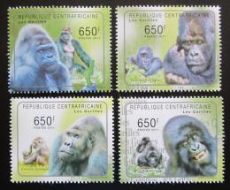 Poštovní známky SAR 2011 Gorily Mi# 3061-64 Kat 10€