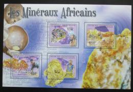 Poštovní známky SAR 2011 Africké minerály Mi# 2958-61 Kat 10€