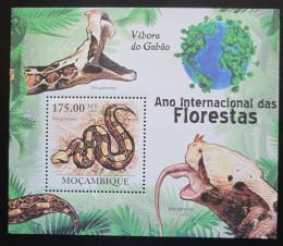 Poštovní známka Mosambik 2011 Hadi Mi# Block 413 Kat 10€