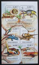 Poštovní známky Mosambik 2011 Ještìrky Mi# 4854-59 Kat 12€
