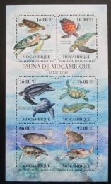Poštovní známky Mosambik 2011 Moøské želvy Mi# 4847-52 Kat 12€