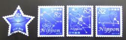 Poštovní známky Japonsko 2016 Souhvìzdí a hvìzda Mi# 7690-93 Kat 6.40€