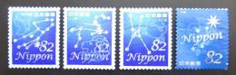 Poštovní známky Japonsko 2014 Souhvìzdí Mi# 6863-66 Kat 6.40€