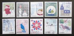 Poštovní známky Japonsko 2015 Vánoce Mi# 7670-79 Kat 16€