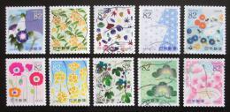 Poštovní známky Japonsko 2014 Den psaní dopisù Mi# 6882-91 Kat 16€