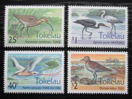 Poštovní známky Tokelau 1993 Vodní ptáci Mi# 196-99 Kat 7.50€