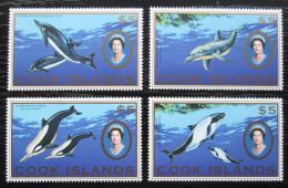 Poštovní známky Cookovy ostrovy 2007 Moøská fauna TOP SET Mi# 1599-1602 Kat 40€