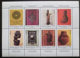Poštovní známky Argentina 1987 Muzejní exponáty Mi# 1862-69 Bogen