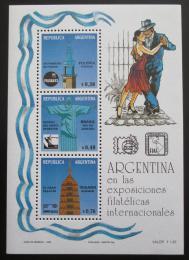 Poštovní známky Argentina 1993 Svìtové výstavy Mi# Block 54