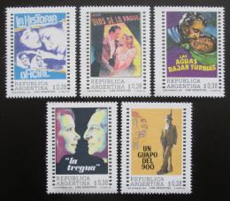 Poštovní známky Argentina 1992 Kino Mi# 2149-53 Kat 7€