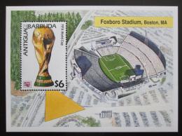 Poštovní známka Antigua 1994 MS ve fotbale Mi# Block 304