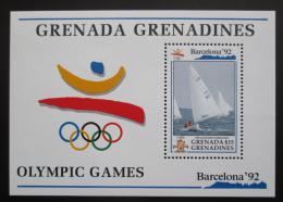 Poštovní známka Grenada Gren. 1992 LOH Barcelona, jachting Mi# Block 238 Kat 17€