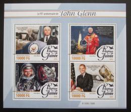 Poštovní známky Guinea 2016 John Glenn, kosmonaut Mi# 11563-66 Kat 16€