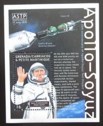 Poštovní známka Grenada Gren. 2000 Vesmírná spolupráce Apollo-Soyuz Mi# Block 473