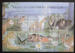 Poštovní známky Kongo Dem. 2000 Africká fauna Mi# 1411-22 Kat 12€