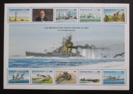 Poštovní známky Tanzánie 1992 Historie 2. svìtové války Mi# 1260-69 Kat 10€