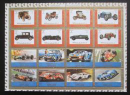 Poštovní známky Adžmán 1973 Závodní automobily Mi# 2749-64 Kat 10€